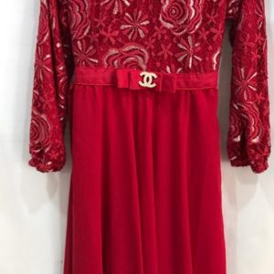 Jubah Channel Red