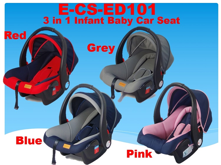 Infant Baby Car Seat 3 In 1 E CS ED101