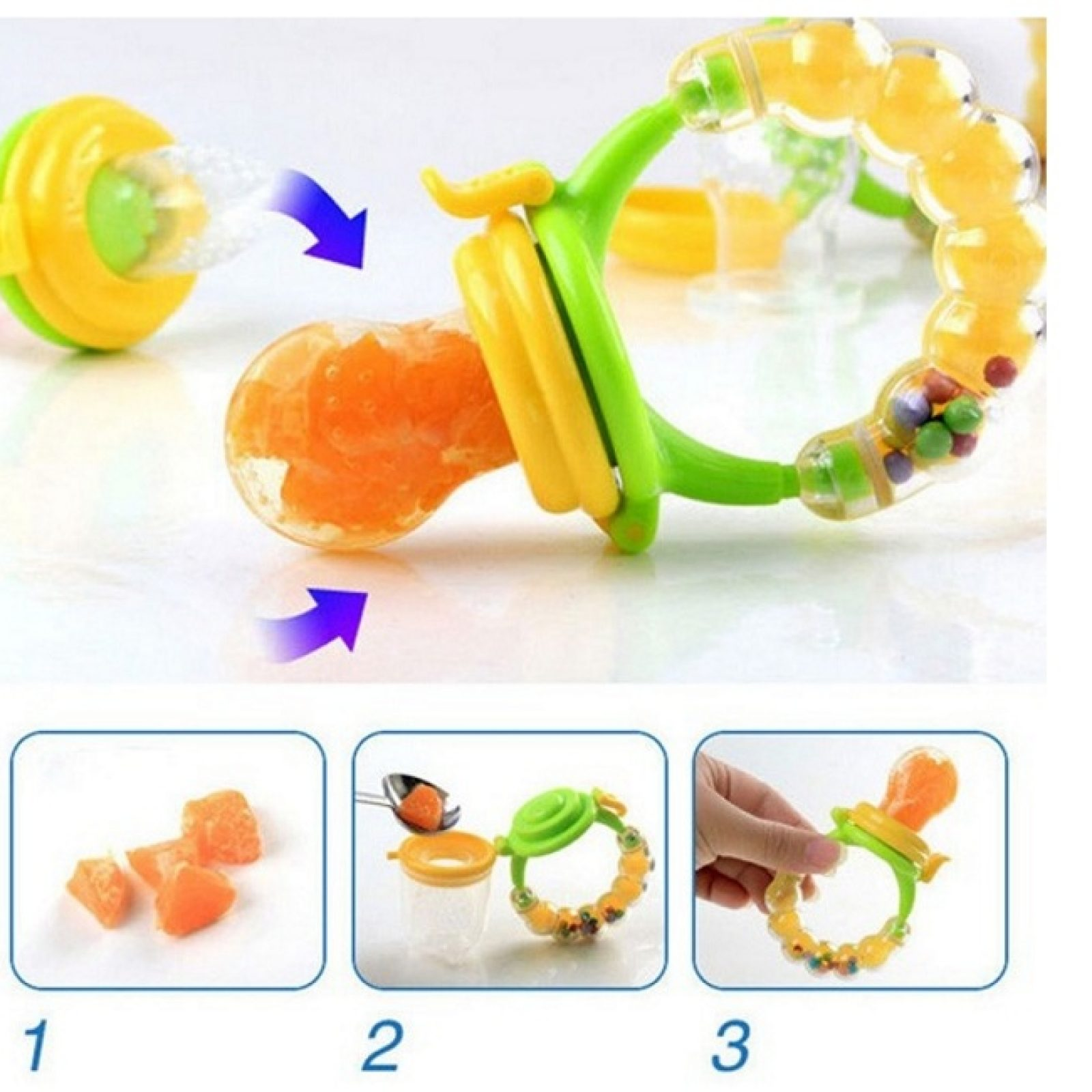 Baby Fruit Feeder Pacifiers
