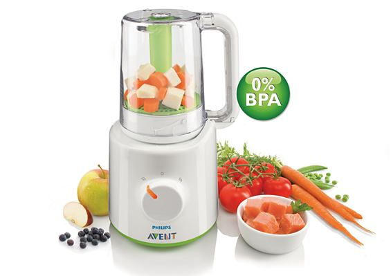 Philips Avent Combined Baby Food Steamer Blender