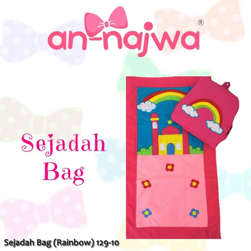 Sejadah Bag Rainbow