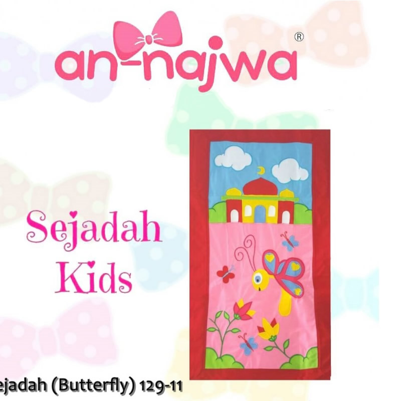 Sejadah Kids Butterfly