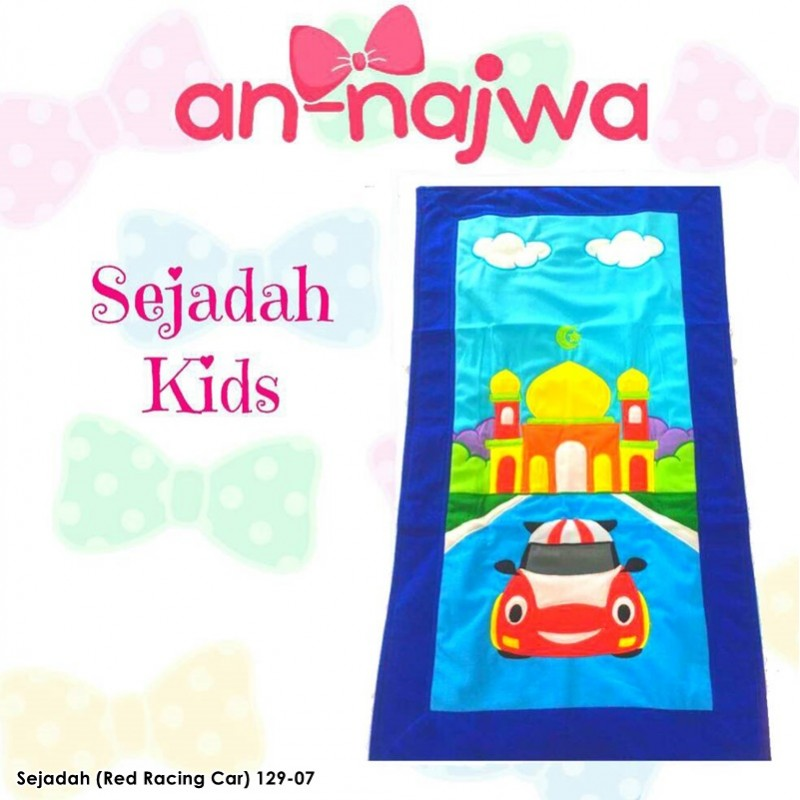 Sejadah Kids Racing Car