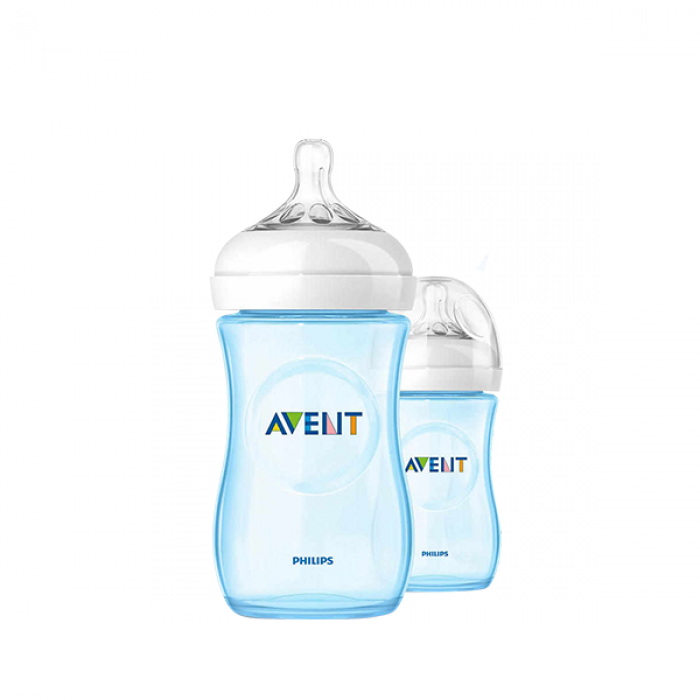 Philips AVENT Natural Special Edition Blue Twin Pack