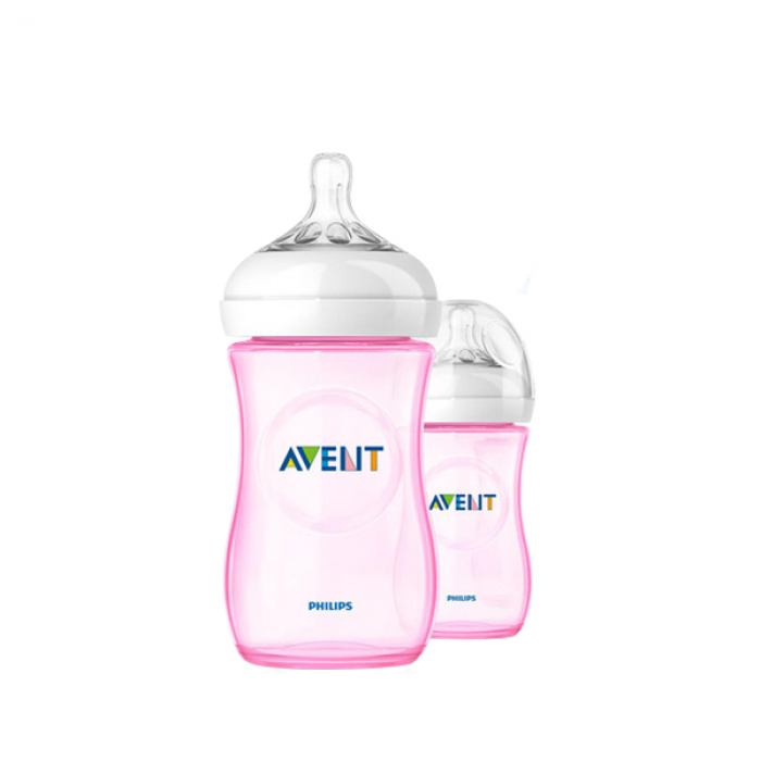 Philips AVENT Natural Special Edition Pink Twin Pack