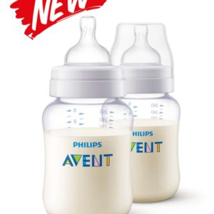 Philips Avent Classic PA Clear Bottle Twin Pack