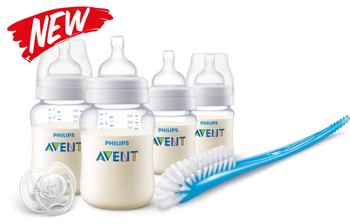 Philips Avent Classic PA Clear Newborn Starter Set